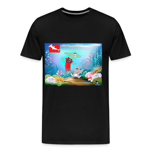 JeSuiSharkie - Camiseta premium hombre