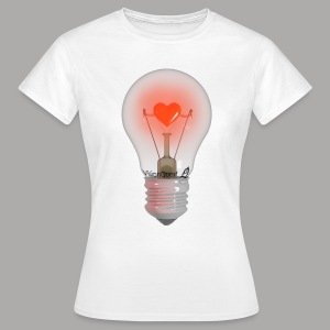 Valentine Light (wit) - Vrouwen T-shirt