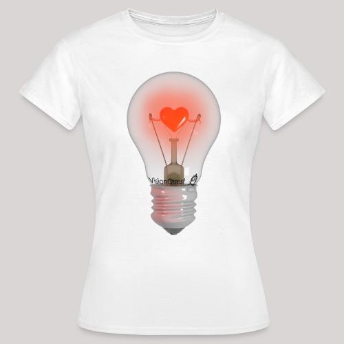 Valentine Light (wit) - Vrouwen T-shirt