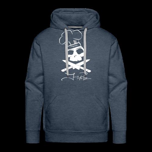 mens skull hoodie - Men's Premium Hoodie