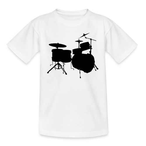 Drumset 2 Kindershirt (schwarz) - Kinder T-Shirt