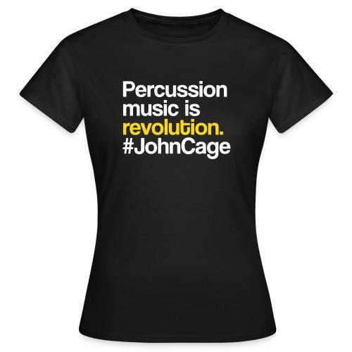 John Cage Shirt (Damen) - Frauen T-Shirt