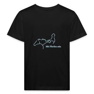 MPS Reiter, KIDS Bio -Shirt ( Print: Digital Light Blue) - Kinder Bio-T-Shirt