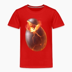 phoenix egg children's t-shirt