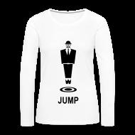 Langarmshirts ~ Frauen Premium Langarmshirt ~ Jump