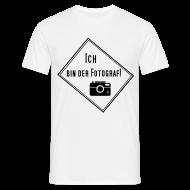 T-Shirts ~ Männer T-Shirt ~ Ich bin der Fotograf!