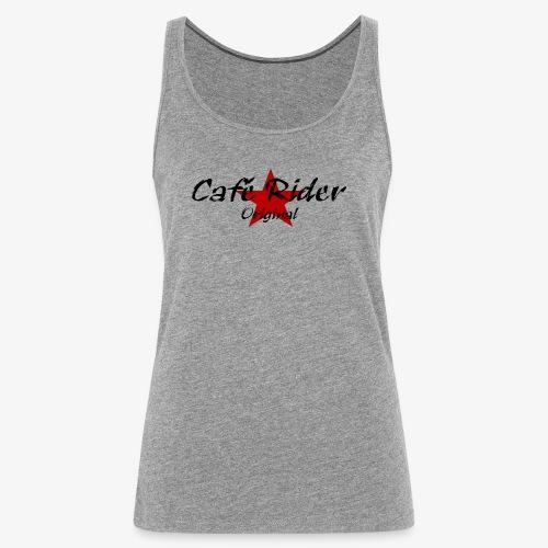 Café Rider Original étoile - Débardeur Premium Femme