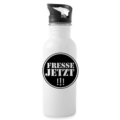 Trinkflasche - Fresse jetzt - Trinkflasche