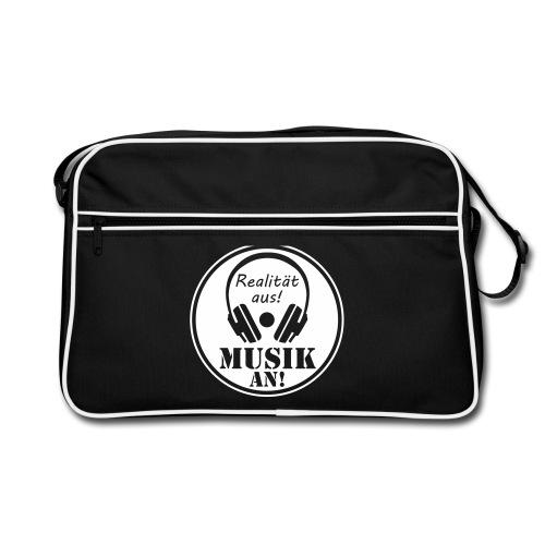 Tasche - Realität aus Musik an - Retro Tasche