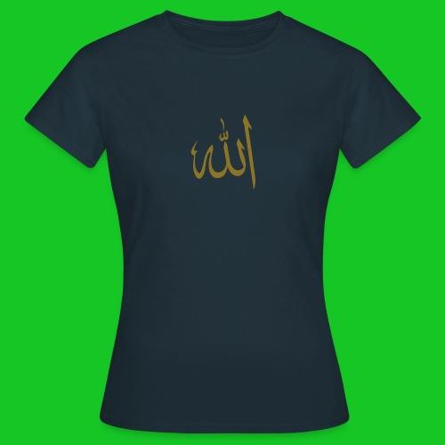 Allah damesshirt - Vrouwen T-shirt