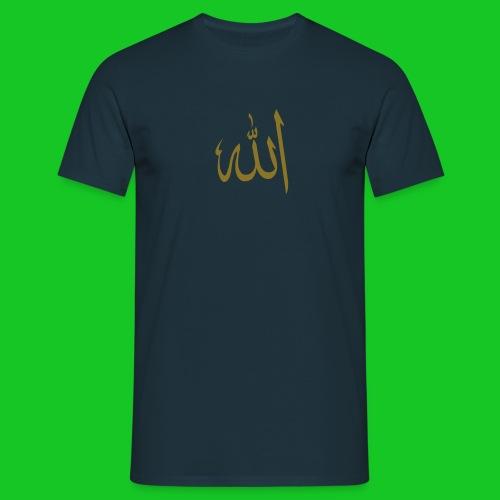 Allah herenshirt - Mannen T-shirt
