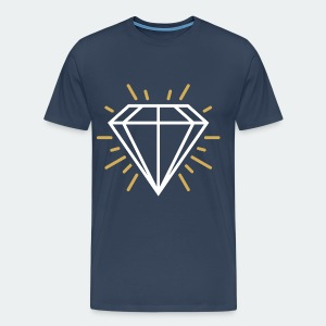White Diamond - Men's Premium T-Shirt
