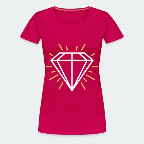 White Diamond - Women's Premium T-Shirt