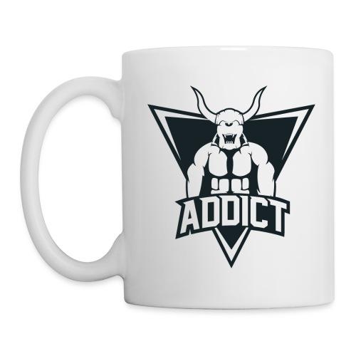 Tasse AddicT Noir - Mug blanc