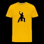 T-Shirts ~ Männer Premium T-Shirt ~ Cajon-Spieler 2 Shirt (Herren)