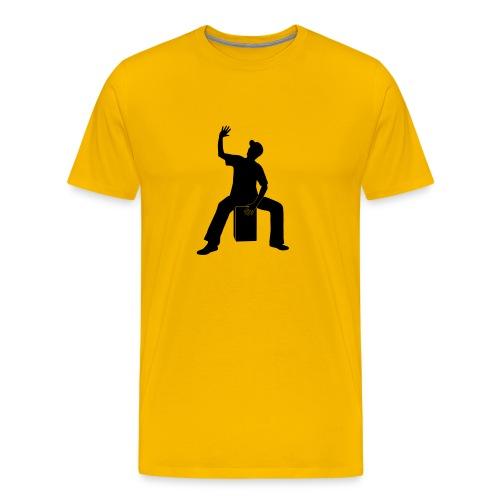 Cajon-Spieler 2 Shirt (Herren) - Männer Premium T-Shirt