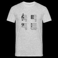 T-Shirts ~ Männer T-Shirt ~ Epic superclef of awesome! Shirt (Herren)