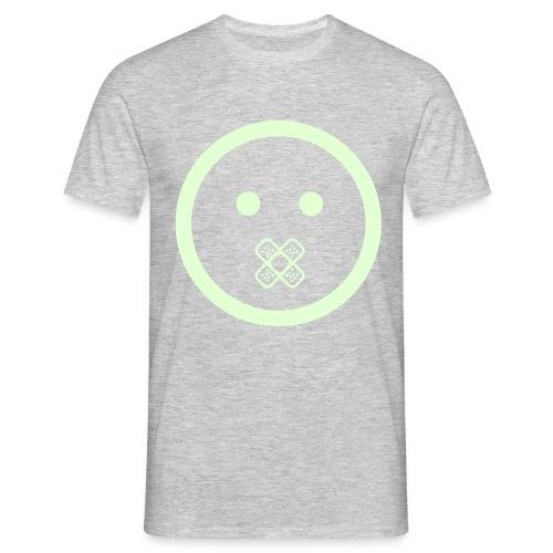 SHUT UP and glow in the dark - Männer T-Shirt