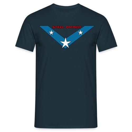 Steel Patriot logo - T-shirt Homme