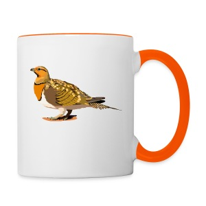 Spießflughuhn - Tasse zweifarbig