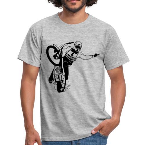 Motorcycle Speedway Racing - Camiseta hombre