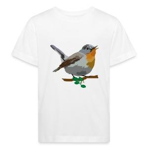 Zwergschnäpper - Kinder Bio-T-Shirt