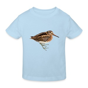 Zwergschnepfe - Kinder Bio-T-Shirt
