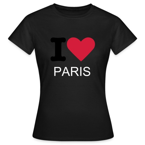 LOVE YOU PARIS - T-shirt Femme