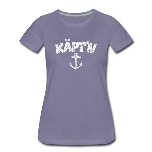 Käpt'n Anker Vintage (Weiß) S-3XL T-Shirt - Frauen Premium T-Shirt