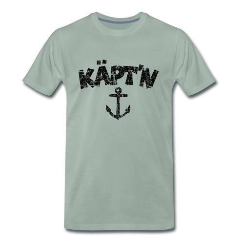 Käpt'n Anker Vintage (Schwarz) S-5XL T-Shirt - Männer Premium T-Shirt