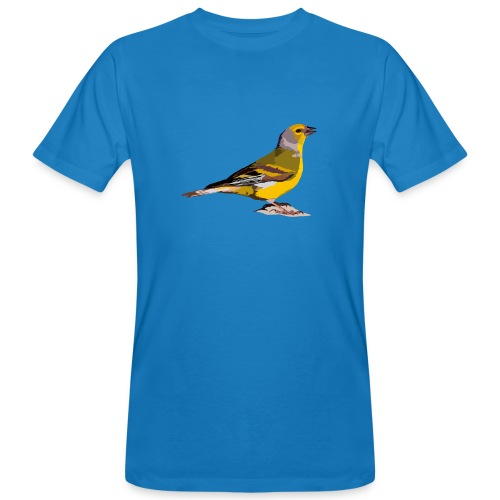 Zitronengirlitz - Männer Bio-T-Shirt