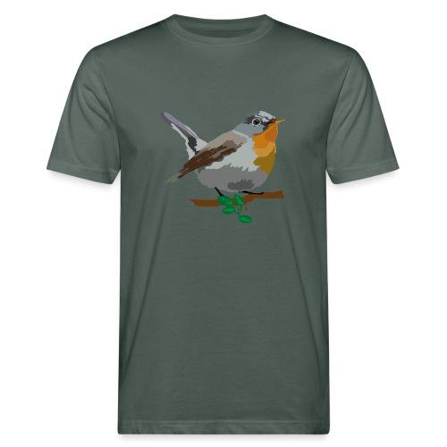 Zwergschnäpper - Männer Bio-T-Shirt