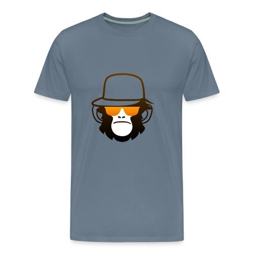 OmdatHetKan TV Shirt Man - Mannen Premium T-shirt