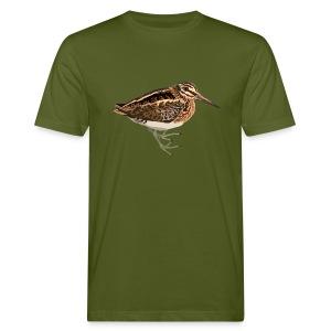 Zwergschnepfe - Männer Bio-T-Shirt