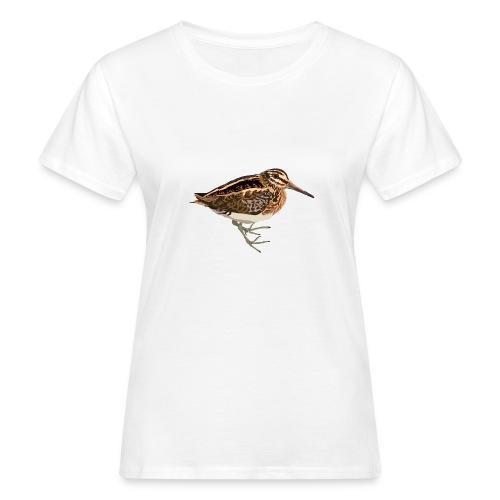 Zwergschnepfe - Frauen Bio-T-Shirt