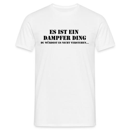 Männer T-Shirt - vaping,vape shirt,vape,elektrische Zigarette,e-Zigarette,dampfer t-shirt,dampfer,dampfen