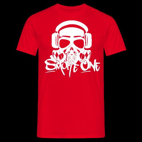 Smoke One male | rot - Männer T-Shirt