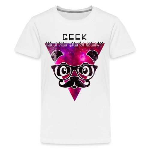 Tee-shirt Panda Geek Ado - T-shirt Premium Ado