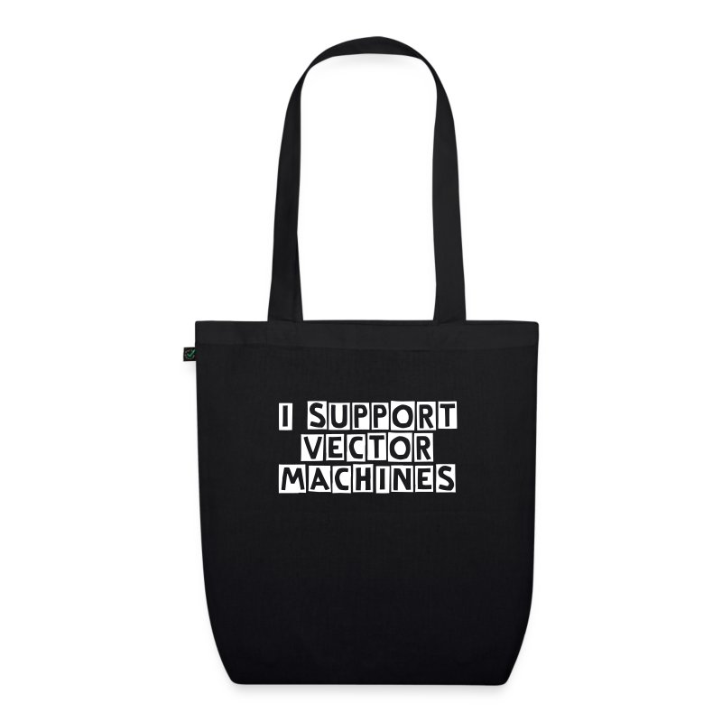 Support vector machines - EarthPositive Tote Bag