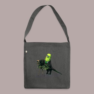 Budgie Camera - Shoulder Bag made from recycled material