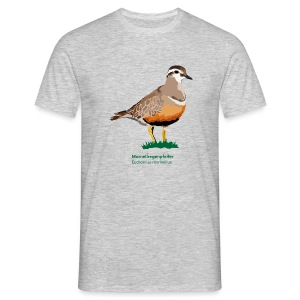 Mornellenregenpfeifer-bird-shirt - Männer T-Shirt