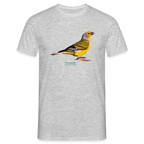 Zitronengirlitz-bird-shirt - Männer T-Shirt