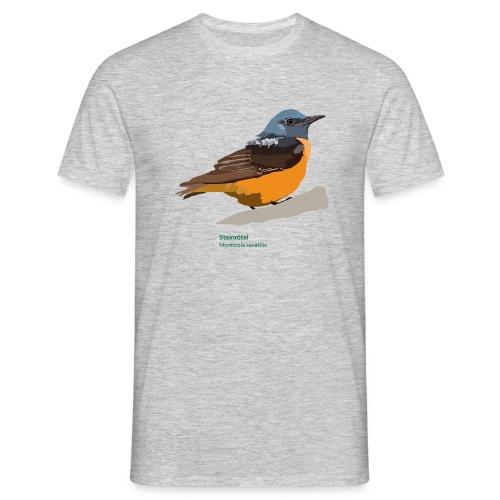 Steinrötel-bird-shirt - Männer T-Shirt