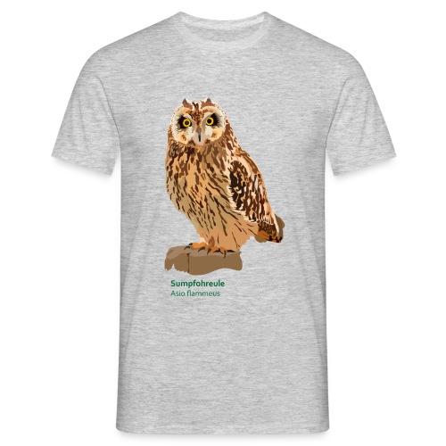 Sumpfohreule-bird-shirt - Männer T-Shirt