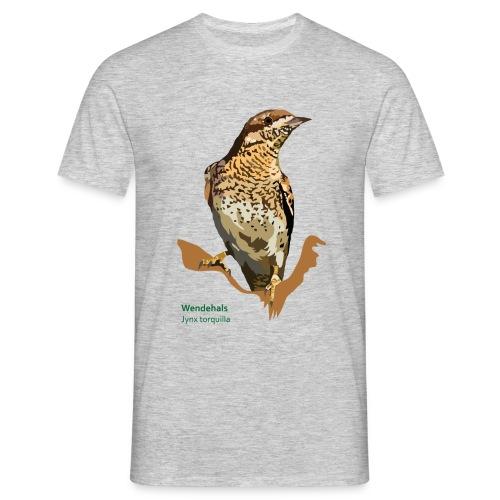 Wendehals-bird-shirt - Männer T-Shirt