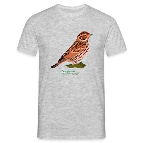 Zwergammer-bird-shirt - Männer T-Shirt