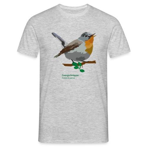 Zwergschnäpper-bird-shirt - Männer T-Shirt