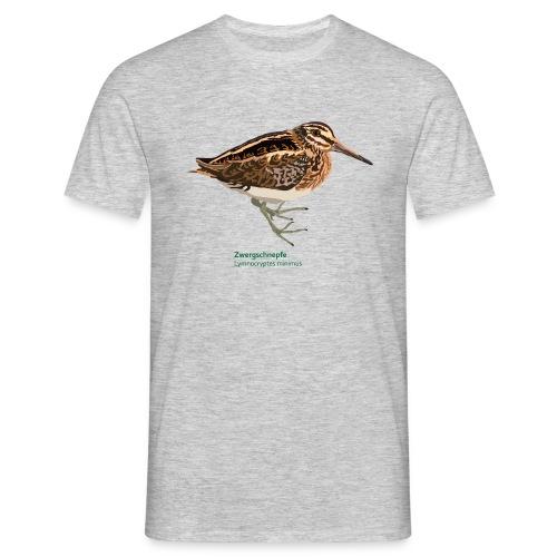 Zwergschnepfe-bird-shirt - Männer T-Shirt