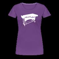 T-Shirts ~ Frauen Premium T-Shirt ~ Vibrant Vibes Kontur Shirt (Damen)