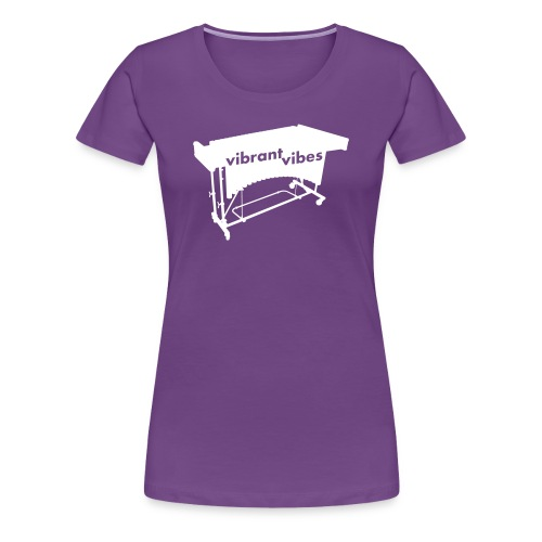 Vibrant Vibes Kontur Shirt (Damen) - Frauen Premium T-Shirt